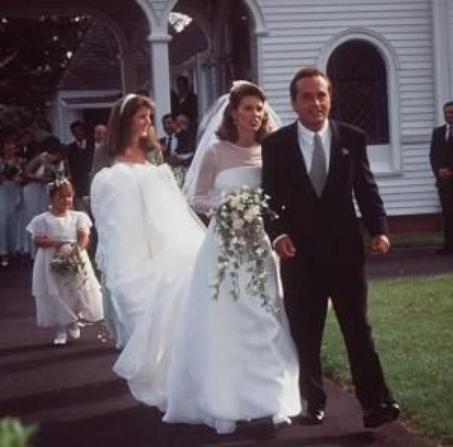 Caroline Kennedy Wedding Gown: Wedding Celebrity #2040188