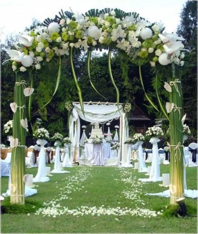 Idee De Decoration Florale Pour Un Patio