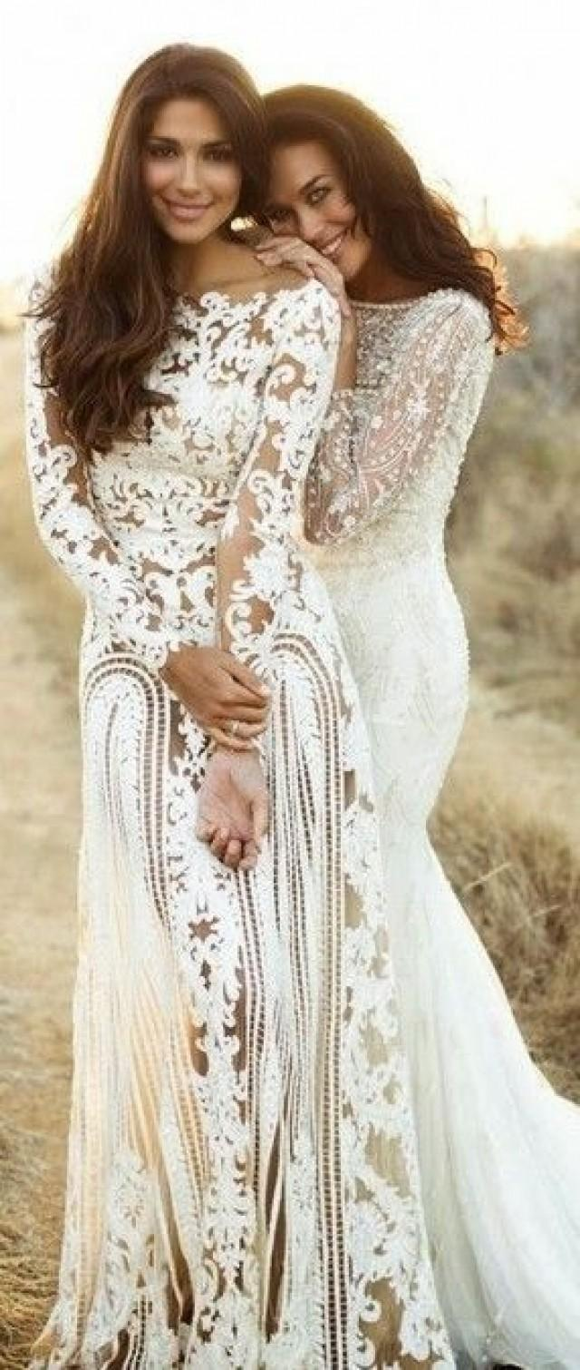 Wedding dresses zuhair murad lace dresses 2041077 for Zuhair murad used wedding dress