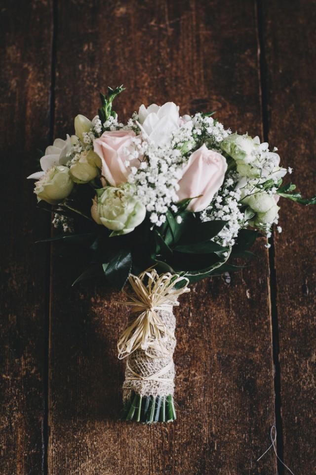Wedding Flowers South Devon : Charming pretty pastel country wedding in devon with a
