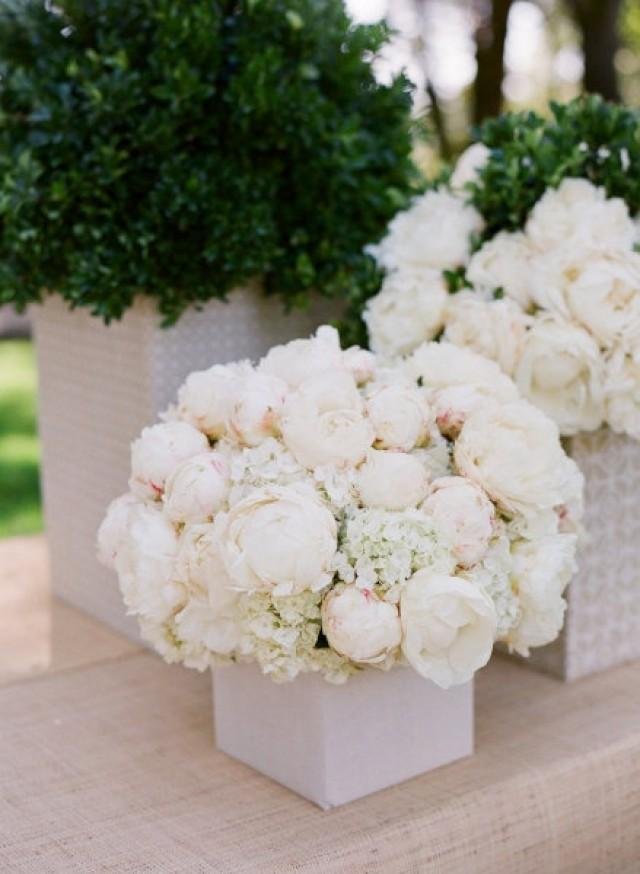 White peony flower arrangements imgkid the
