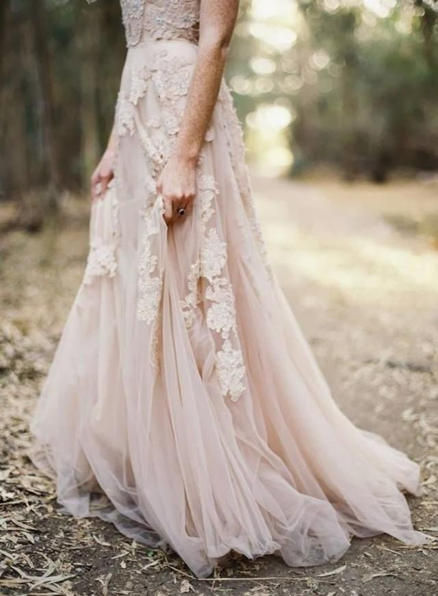 Blush Wedding Veils | Pink Wedding Veils