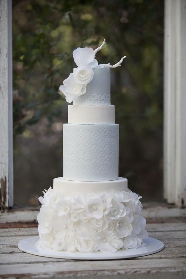 Images Of Round Wedding Cake : Wedding Cakes - Chanel Inspired   Round Wedding Cakes ...