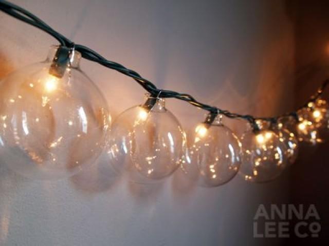 Diy Cafe String Lights : Luces De La Boda - Mejores DIY Luces De Cadena / Guirnaldas #2046709 - Weddbook