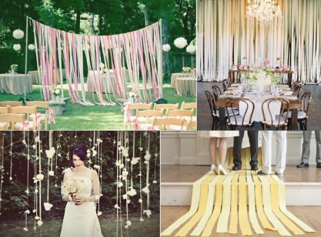 Backdrops Lovely Wedding Backdrop Ideas Ribbons