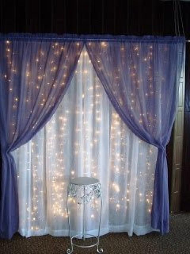 Backdrops lighted wedding backdrop 2046783 weddbook for Wedding backdrops