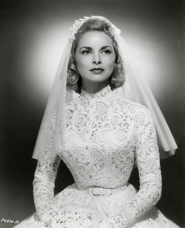 Celebrity Wedding Login: Beautiful Janet Leigh On Her Wedding Day #2046901