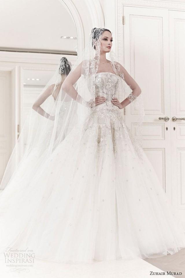 Spring wedding zuhair murad spring 2014 2047117 weddbook for Zuhair murad 2014 wedding dresses