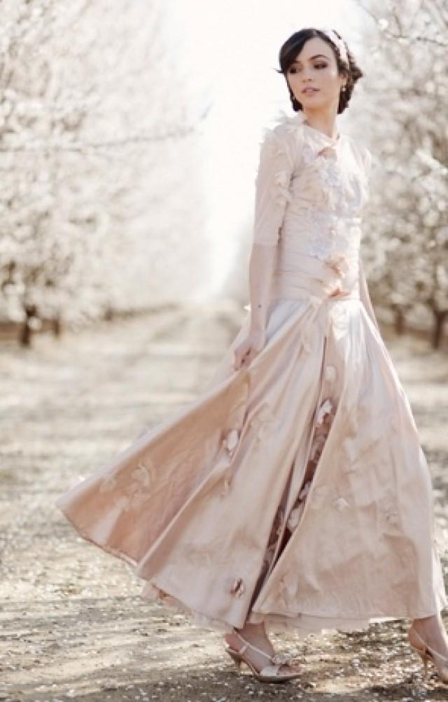 Wedding ideas clairepettibone weddbook pink claire pettibone dress junglespirit Images