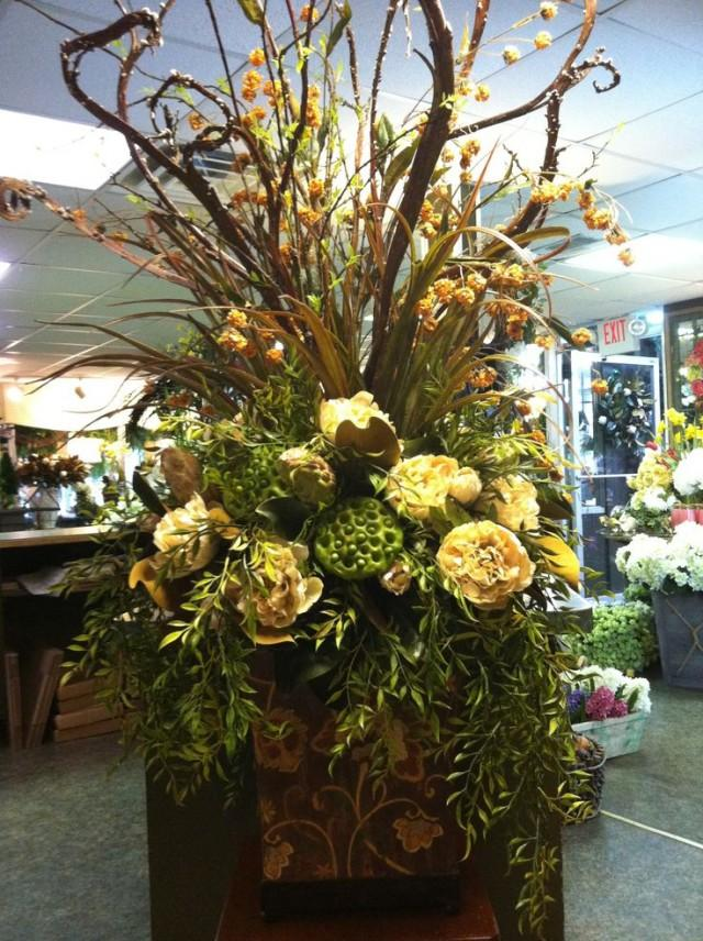 centerpieces large silk floral arrangement 2047384 weddbook