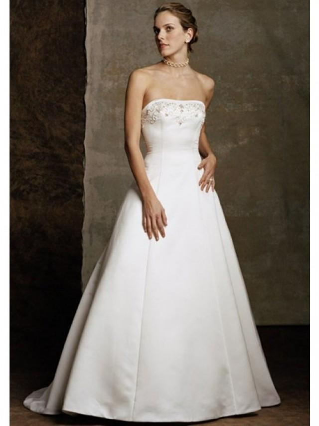White Wedding Dresses With Embroidery 22