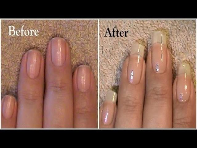 Going From Short Nails To Long Natural Nails 3 Month Nail Growth ...