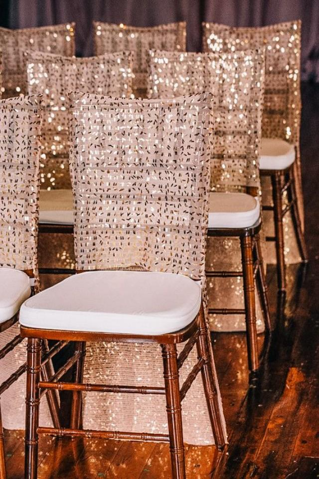 Wedding Chairs Sequin Chivari Chair Covers