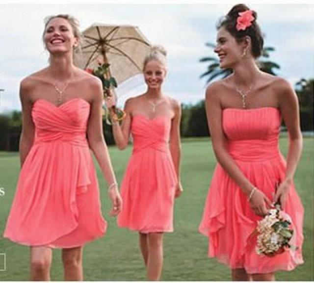 Coral Wedding Gowns
