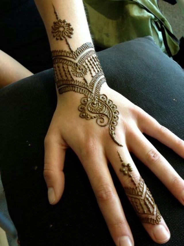 Mehndi Designs For Gents Hands : Indian wedding heartfire henna weddbook