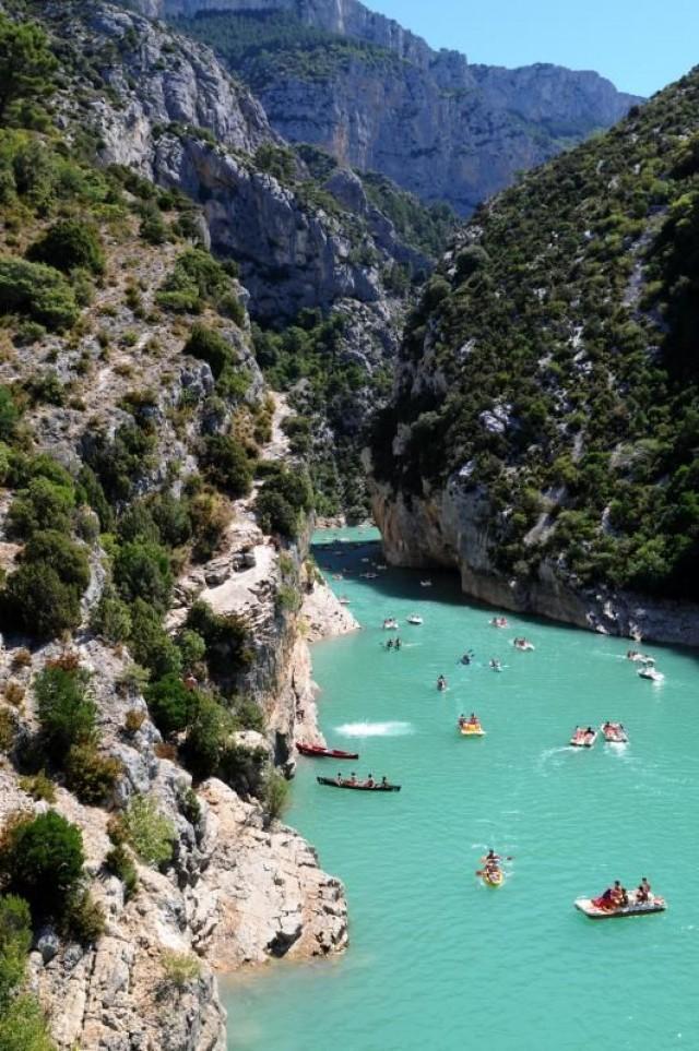 Honeymoon verdon gorge france 2048891 weddbook for Places to swim in paris