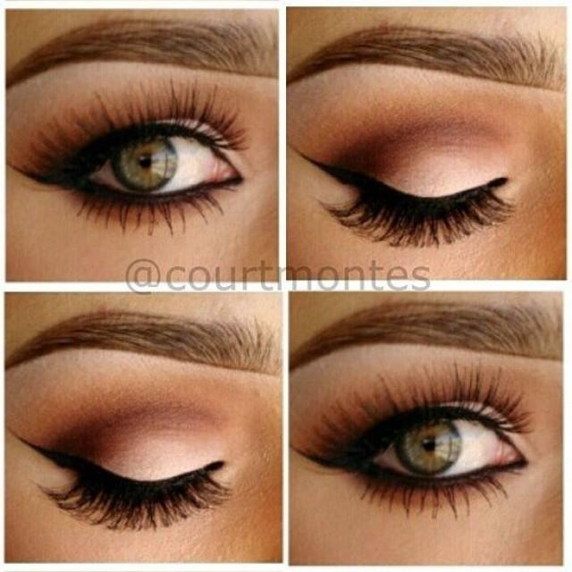 Perfect Wedding Eye Makeup : Makeup - Gorgeous Eye Makeup #2048930 - Weddbook