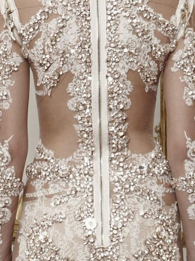 Givenchy haute couture fall details weddbook