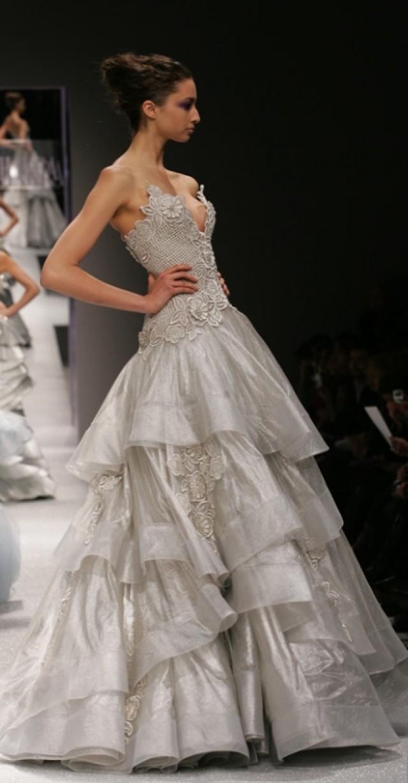 georges chakra wedding dress - photo #5