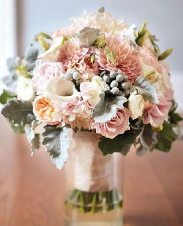 Bridal Flowers Blush Pink : Blush wedding pink flowers weddbook
