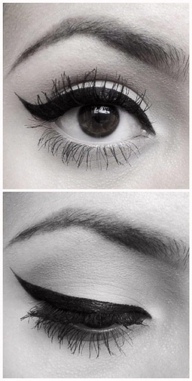Winged Eyeliner Tutorial Step By Step: Perfect Winged Eyeliner. #2051082