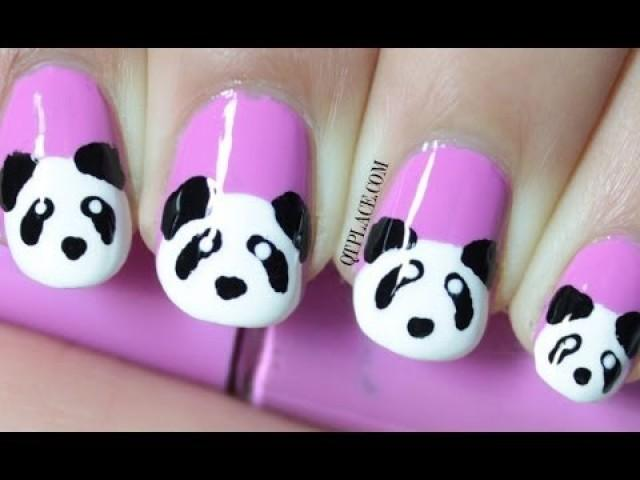 Wedding Nail Designs - Panda Nail Art #2051989 - Weddbook