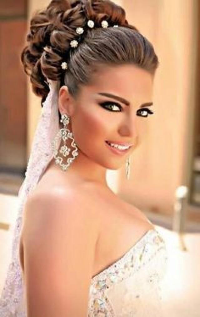 top 10 gorgeous bridal hairstyles for long hair 2053452 weddbook