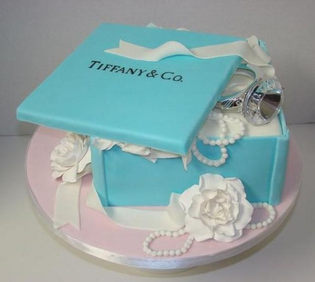 Engagement Party Cake Images : Engagement Photos - Tiffany Engagement Cake #2053692 ...