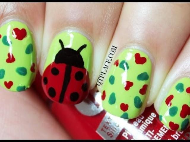 Nail Art Designs Ladybug : Wedding nail designs ladybug art weddbook - Nail Art Designs Ladybug: Ladybug Nail Design By Zuzana V Preen Me.