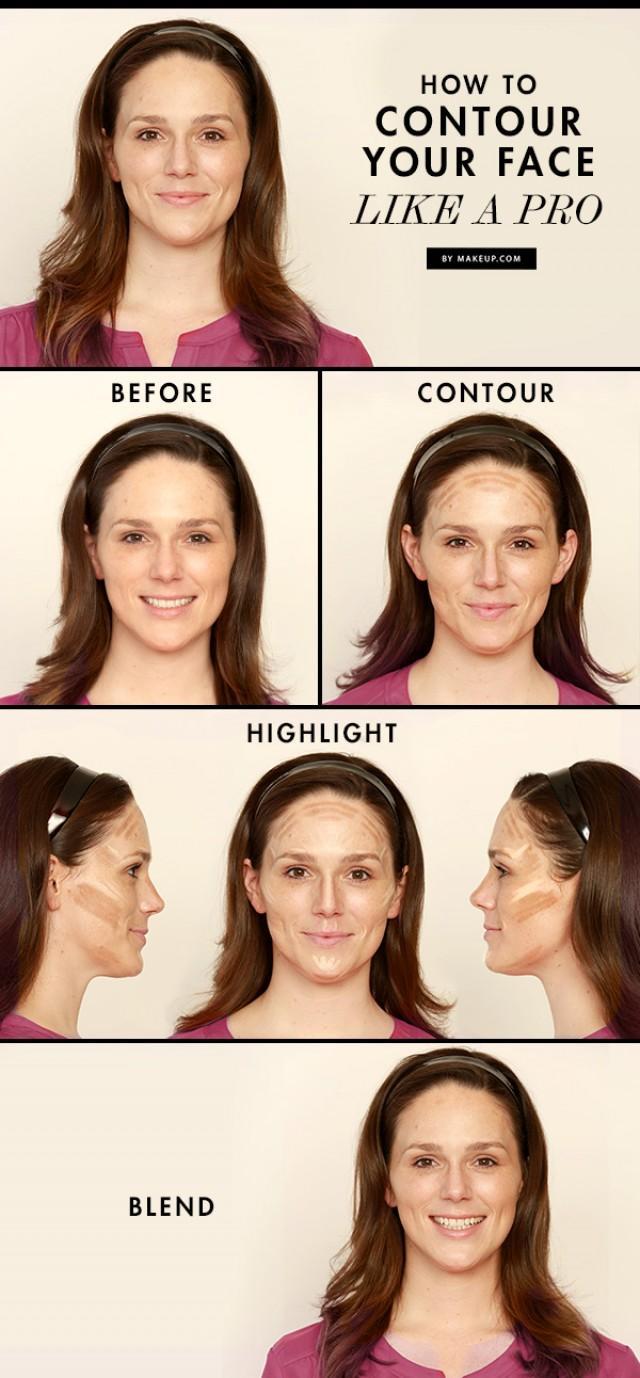 Contour Your Face Like Pro Weddbook