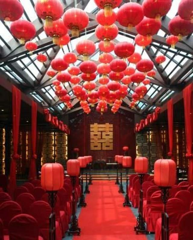 Oriental wedding designing chinese