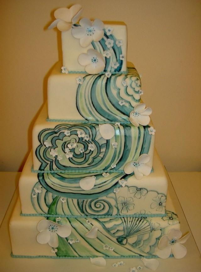 Wedding Cakes Japanese Inspired Tattoo Wedding Cake