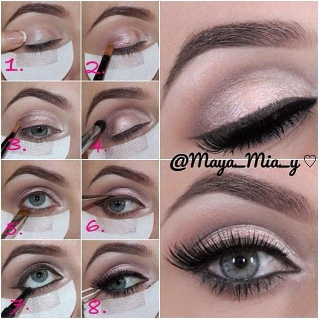 Bride Eye Makeup Tutorial : Makeup - Makeup: DIY MAC Eye Shadow #2056216 - Weddbook