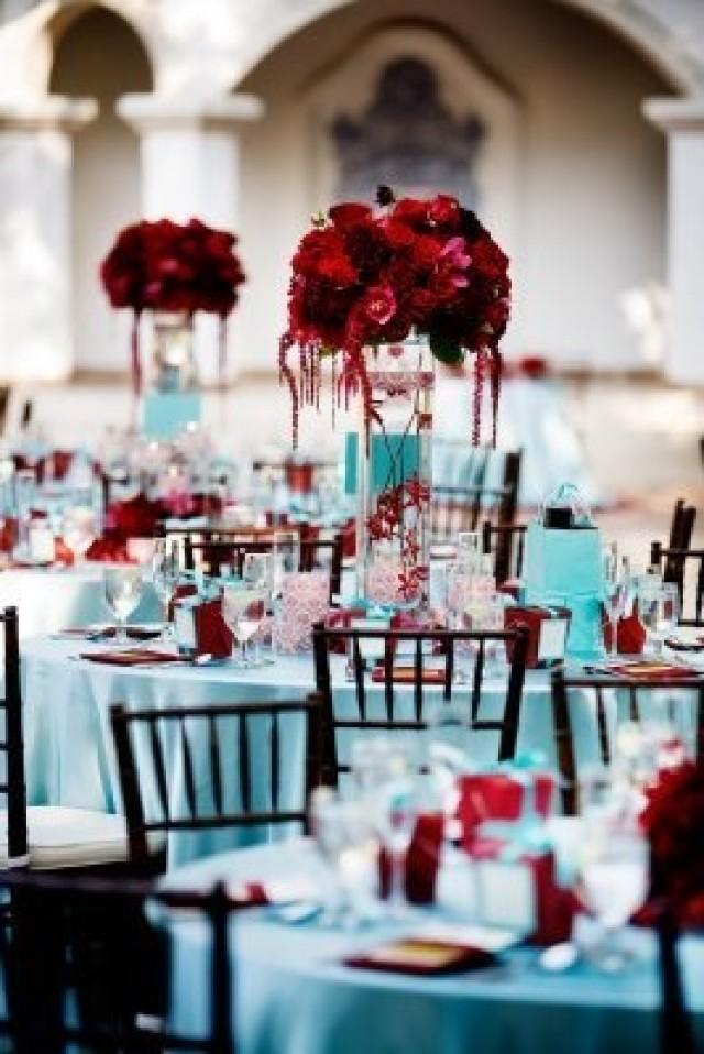 Red And Blue Wedding Theme Midway Media