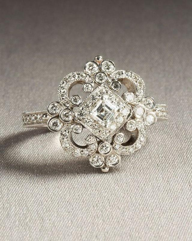 History of the Engagement Ring  Harry Winston