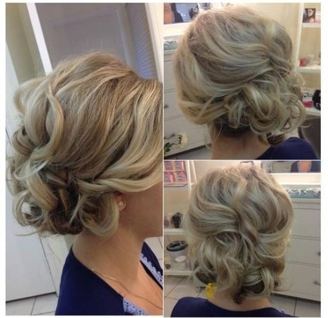 Enjoyable Wedding Hairstyles Bridesmaid Hair Love This 2056384 Weddbook Hairstyles For Men Maxibearus