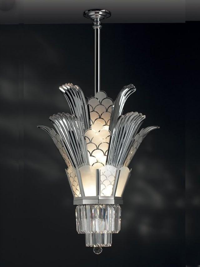 Great Gatsby Wedding Art Deco Chandelier 2056563