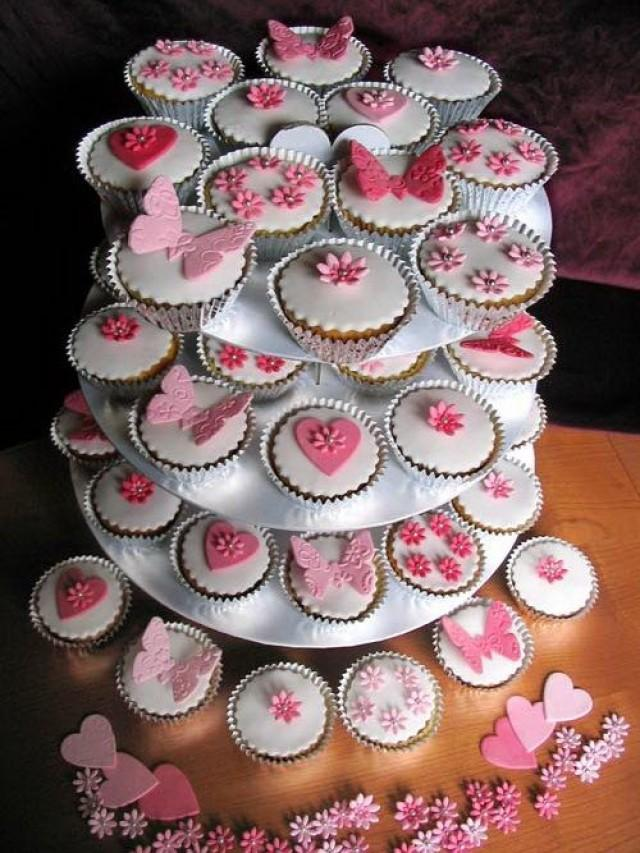 Bachelorette Party Ideas Pink Wedding Cupcakes Ideas