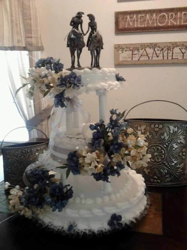 Country Western Theme Wedding Cakes