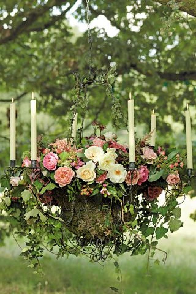 Garden Wedding Decoration - Midsummer Nights Dream-Inspired Setting ...