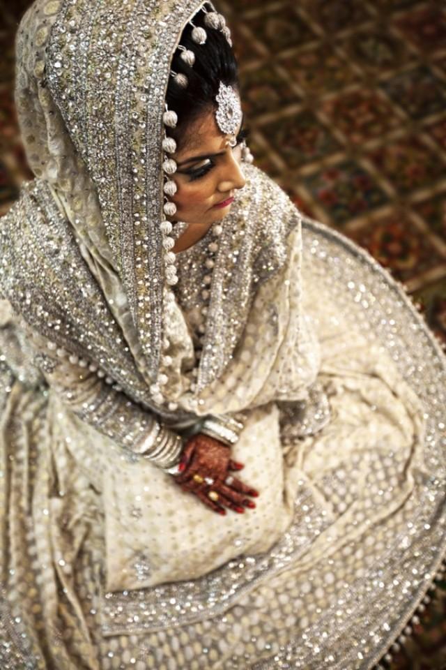 Indian wedding white bridal lehenga 2057160 weddbook for White indian wedding dress