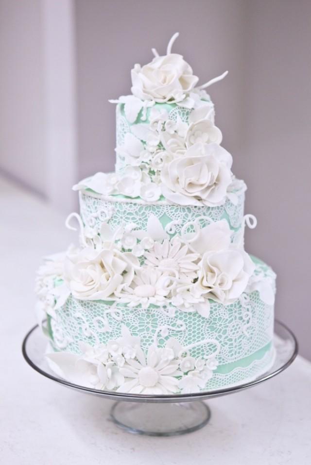 Tiffany Blue Cake Images : Tiffany Blue Wedding - Cake. TIffany Blue. #2057645 - Weddbook