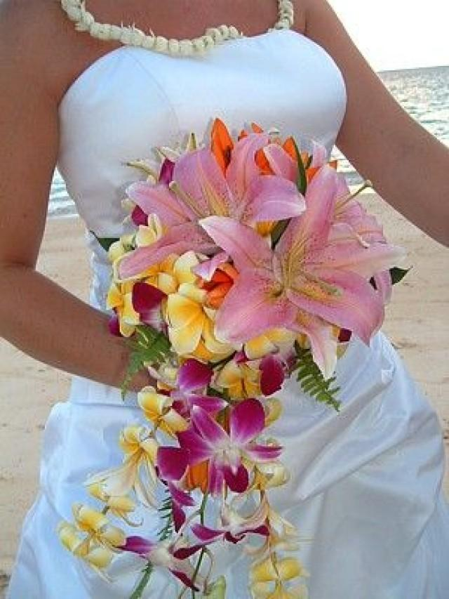 Tropical Wedding Bouquet 2057716 Weddbook