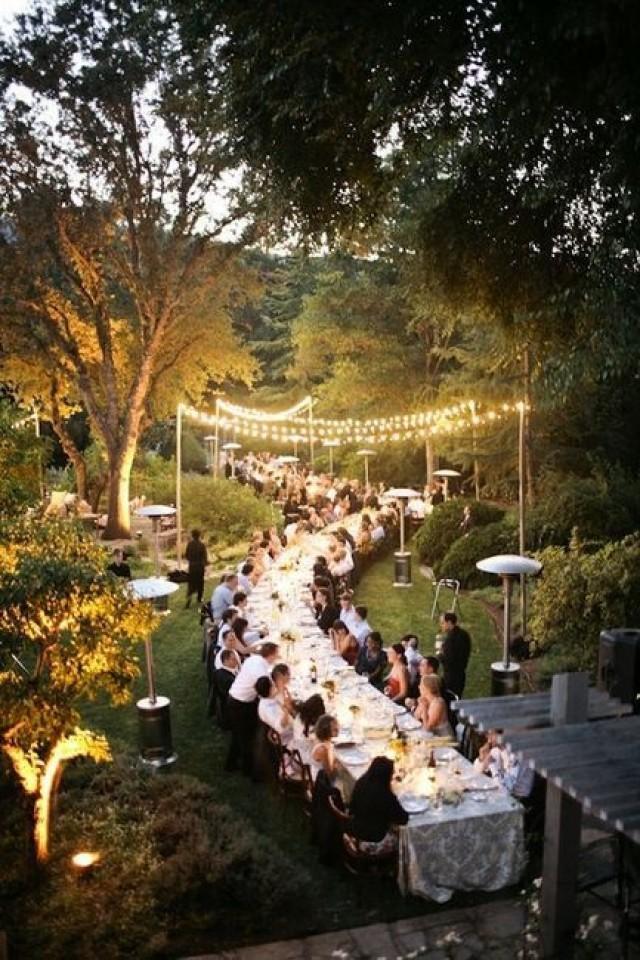 Outdoor Wedding Heavenly Dinner Party 2057935 Weddbook