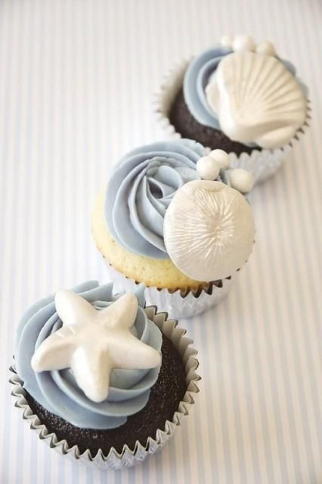 Wedding Ideas Beach Cupcakes Weddbook
