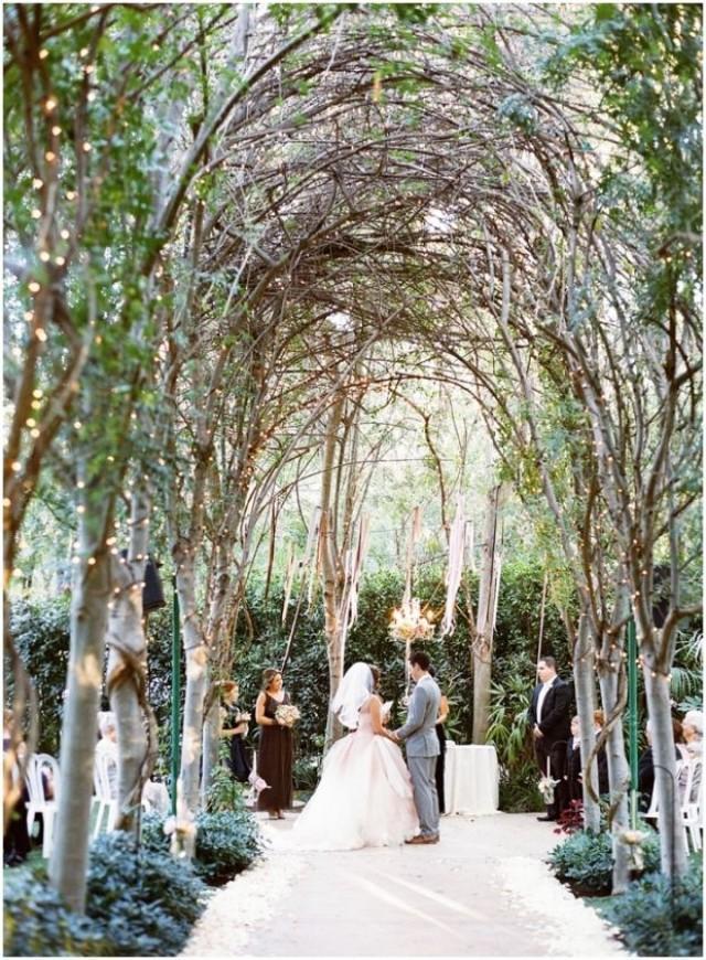 Garden Wedding - Enchanted Secret Garden Wedding... #2058229 - Weddbook