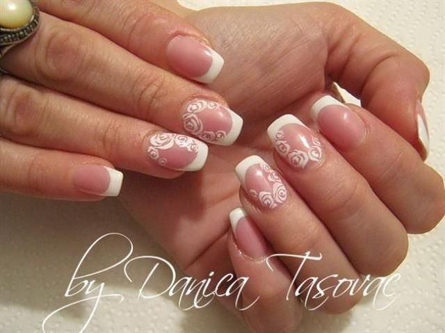 Wedding Nail Designs Bridal Wedding Nail Art 2059128 Weddbook