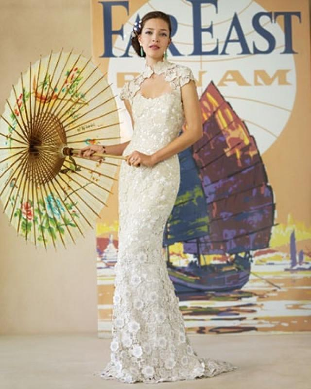 Oriental wedding a twist to the ordinary qipao 2059840 for Asian inspired wedding dress