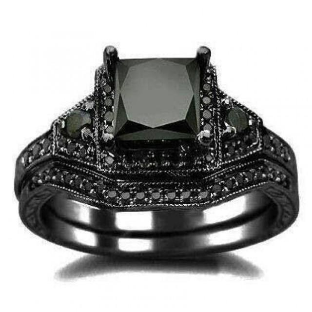 gothic wedding gothic wedding ring 2060021 weddbook