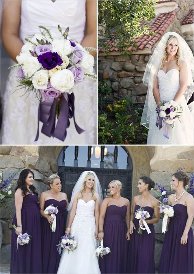 Purple wedding purple vintage wedding ideas 2060059 for Dark purple dress for wedding